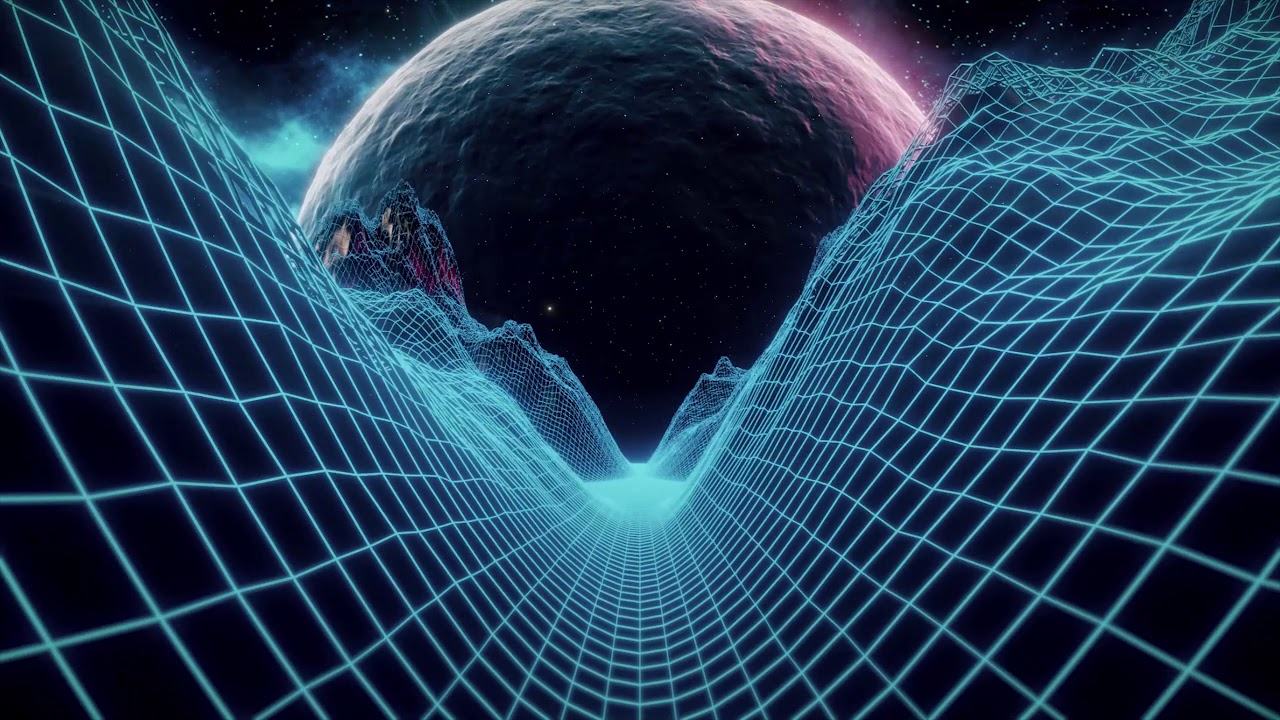 ► FREE Video Background Loop Footage | 2K 1440p60 | Retrowave - Synthwave  80's Landscape #0508 ◄