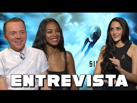 STAR TREK - Entrevista con Simon Pegg y Zoe Saldana