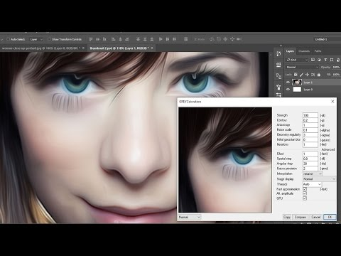 How to Install Oil Paint plugin  in Photoshop CC 2015.5 Tutorial