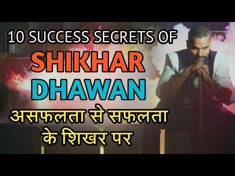 shikhar dhawan | असफलता से सफलता के शिखर में ऐसे पहुचे। success secrets