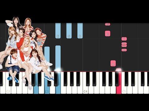 Twice - Likey (Piano Tutorial)