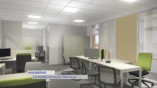 Maurepas : la mairie en plein travaux