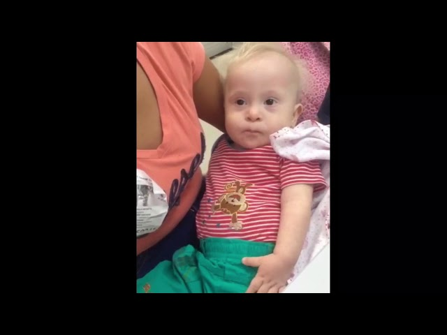 Couple wishes to adopt Colombia baby with Down syndrome