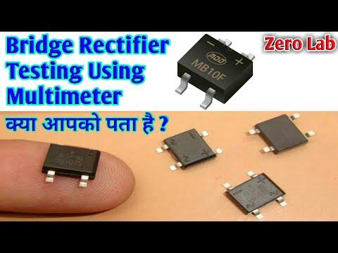 bridge-rectifier-testing-with-multimeter-/-smd-bridge-rectifier