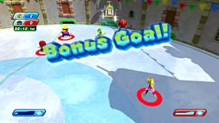 Mario and Sonic at the Sochi 2014 Olympic Winter Games - Part 22: Snow Day Street Hockey
