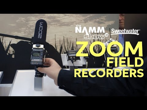Zoom's new field recorders F1-SP and F1-LP