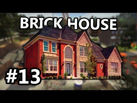 BUILDING BRICK HOUSE! DEMOLISH & BUILD COMPANY 2017 - EP13