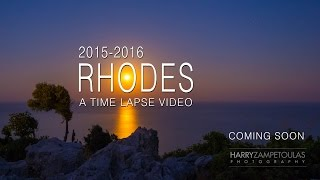 Rhodes 2015-2016 - A time lapse video - Trailer(Highlights of the upcoming time lapse video about the island of Rhodes, Greece. Στιγμιότυπα από το επερχόμενο timelaspe video για την Ρόδο μας., 2016-02-21T12:52:11.000Z)