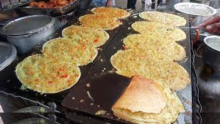 Early Morning Breakfast in Hyderabad | Begum Bazar Dosa / Pizza Dosa / Panner Dosa is @ 25 rs Only