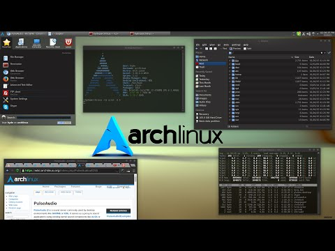 Arch Linux - установка Часть 1 (из 2-х)