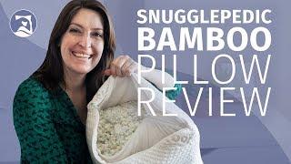 Snuggle-Pedic Pillow Review - Adjustable Shredded Memory Foam (2018 UPDATE)