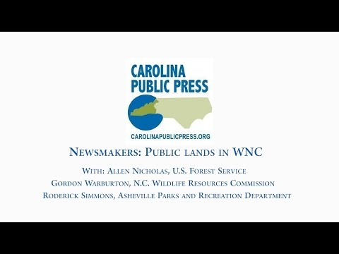 Newsmakers: Earth Day conversation about WNC's public lands