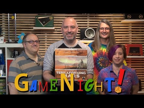 Terraforming Mars - GameNight! Se5 Ep9