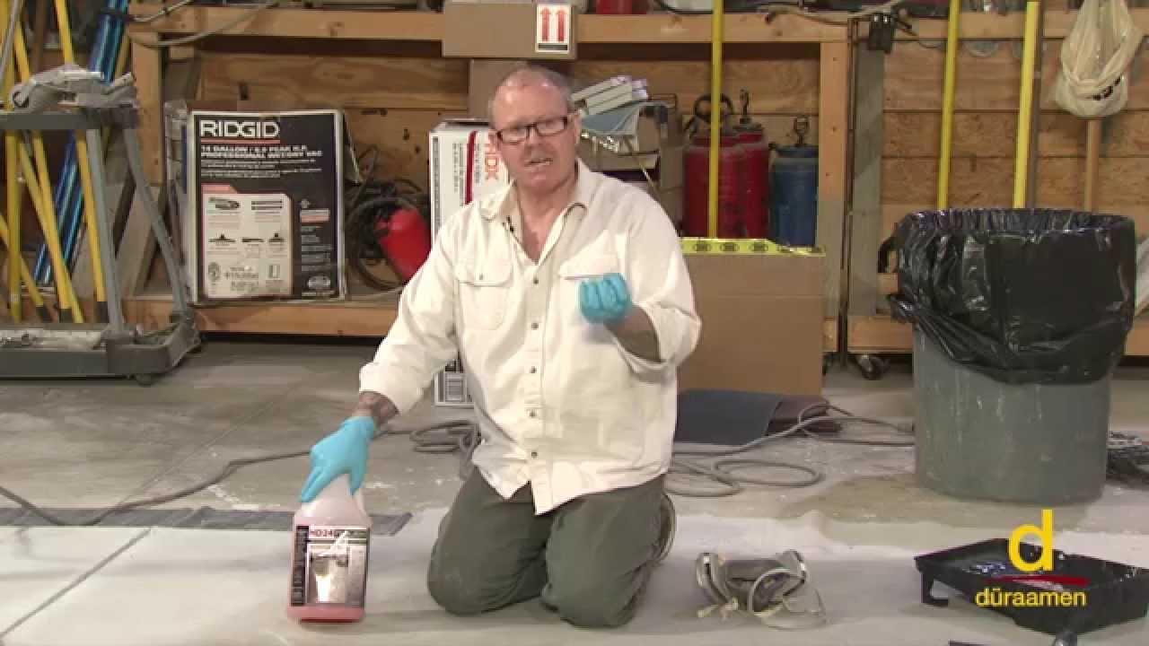 Concrete Surface Preparation using Gelled Acid