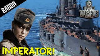 Video Imperator Furiosa! NEW Russian Battleship - World of Warships download MP3, 3GP, MP4, WEBM, AVI, FLV Juni 2018