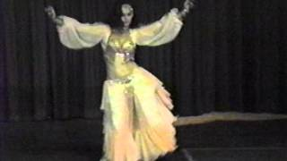 Alexandra King, 1988 Belly Dancer of the Year
