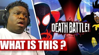 Miles Morales VS Static (Marvel's Spider-Man VS DC's Static Shock) | DEATH BATTLE! - REACTION