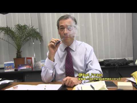 @Nigel_Farage talks about e-cigs  #EUecigBAN