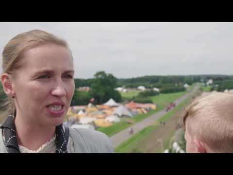 Mette Frederiksen besøger Spejdernes Lejr 2017