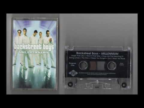 (1999) Backstreet Boys - Millennium [Cassette Rip]
