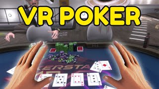 Virtual Reality Poker Is PURE CHAOS (Poker Stars VR Funny Moments)