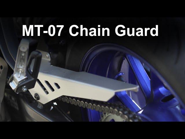 Yamaha MT-07 Chain Guard Review - BLING!