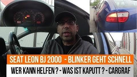 Renault Megane Blinker Problem