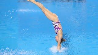 【飛び込み】水しぶきがほとんど無い入水が凄い【ダイビング】