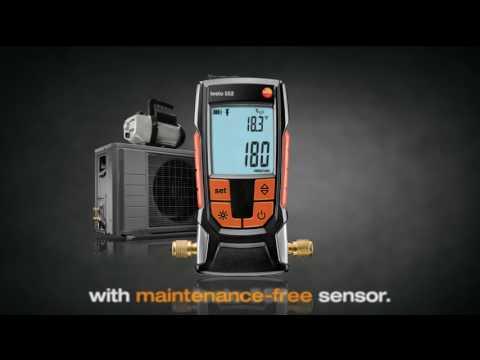The testo 552 Digital Vacuum Gauge