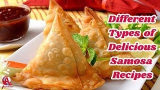 Different Types of Samosa Recipes 2018 | Delicious Samosa Recipes 2018