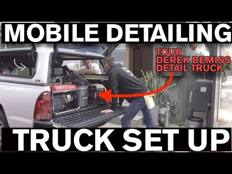 Start A Mobile Detailing Business: Truck Set Up
