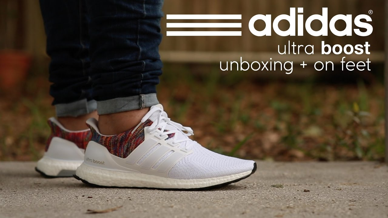 size 40 39a4a 5c35d Adidas Ultra Boost  MiAdidas  Unboxing + On Feet