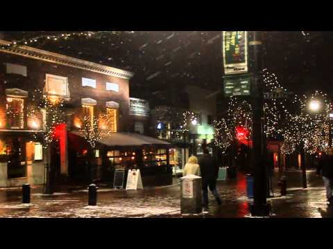 Christmas Snow, Burlington, Vt, Dec. 23, 2012