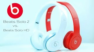"Beats by Dre Solo 2 vs. ""Drenched"" Beats Solo HD - Hands-On Comparison"