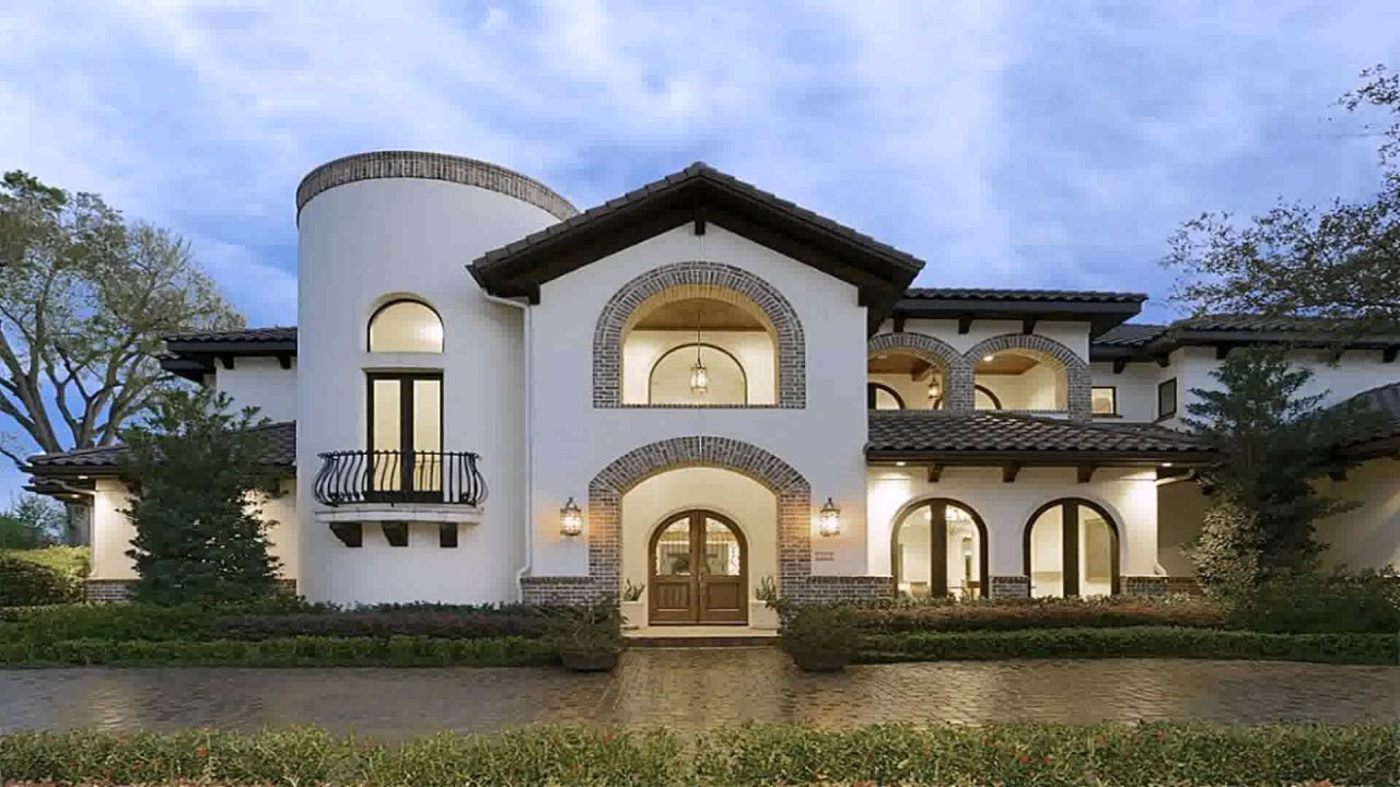 Spanish Style Homes Houston - YouTube
