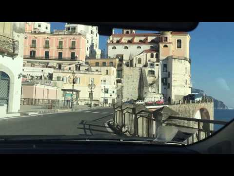 italy Trip 2016: Driving along the Amalfi Coast