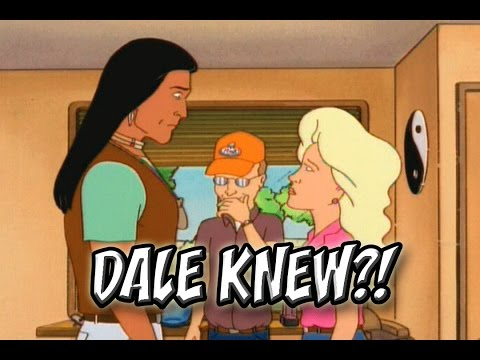 Cartoon Conspiracy Theory | King Of The Hill | Dale Knew The Whole Time