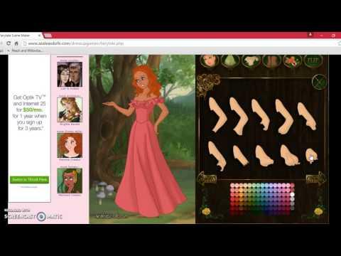 Fairytale scene maker on azaleas