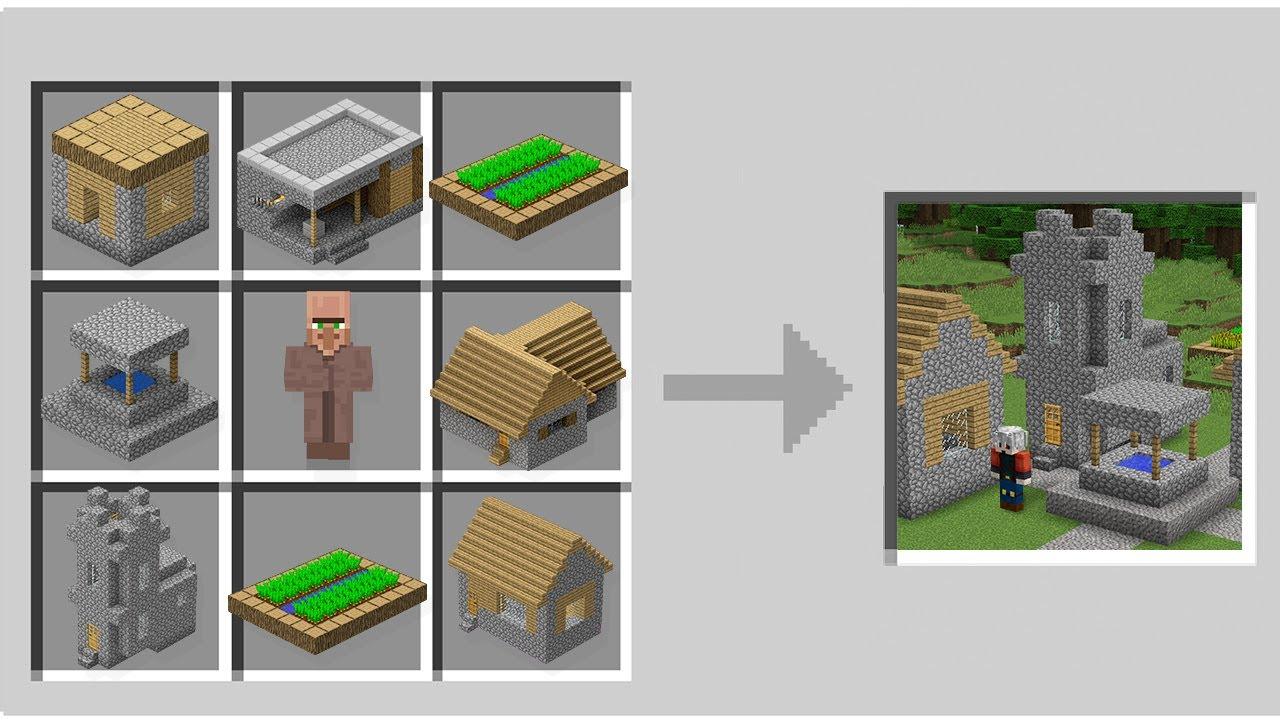 1000$ YENİ KÖY - Minecraft