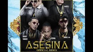 Brytiago Ft Darell, Daddy Yankee, Ozuna, Anuel Aa - Asesina (Remix Extended Version Dj Beto)