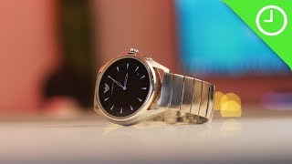 Emporio Armani Connected review: Simple elegance but plain old Wear OS