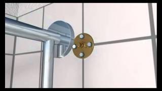 Hansgrohe showerpipe, handdouche en regendouche in één, demo video