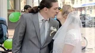 В Курске прошла свадьба на велосипедах