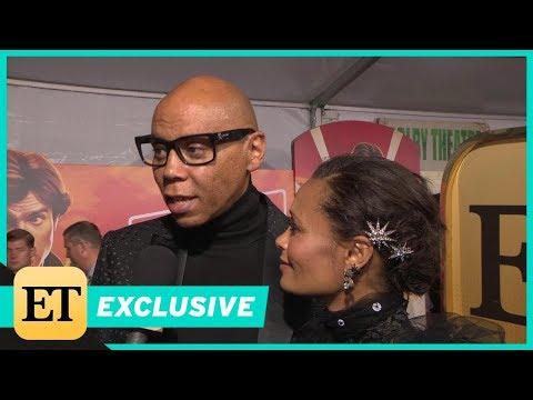 Watch RuPaul Adorably Crash Thandie Newton's 'Solo' Premiere  Exclusive