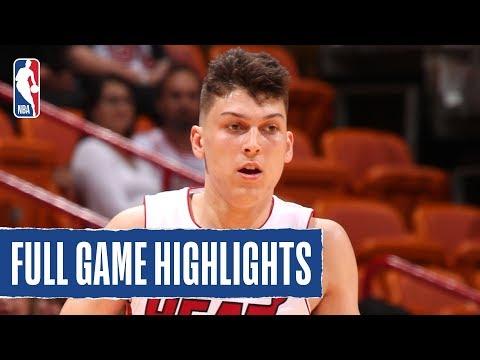 SPURS at HEAT | Tyler Herro Shines In Preseason Debut | 2019 NBA Preseason
