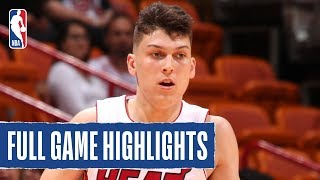 SPURS at HEAT | Tyler Herro Shines In Preseason Debut | 2019 NBA Preseason