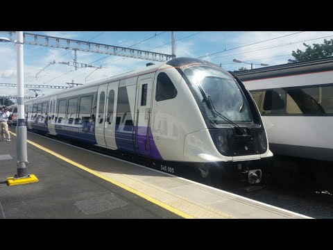 **SECOND DAY IN SERVICE** Class 345 in Passenger Service - Full Journey and Train Walkthrough