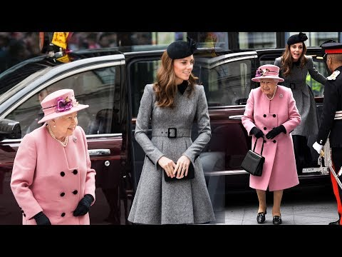Kate joined Queen Elizabeth for a special joint outing on Tuesday