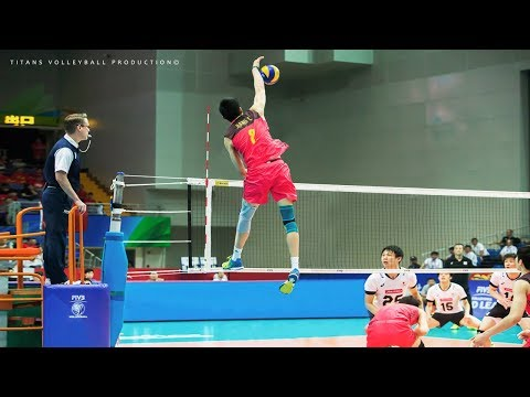 Top 50 Attack On An Empty Volleyball Net (Without Block) 2018 HD