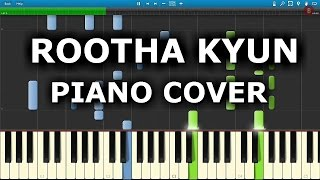 ROOTHA KYUN (1920 LONDON) : How to play Rootha Kyun On Piano,Keyboard,Casio